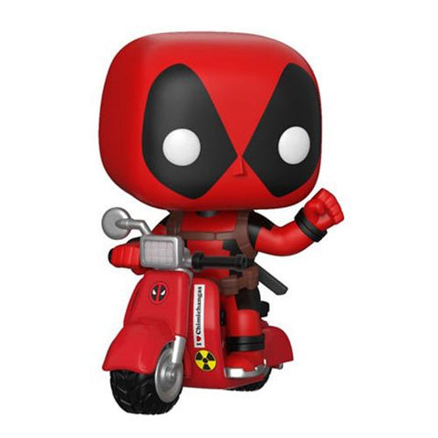 Deadpool and Scooter Pop! Vinyl Vehicle [Pre-order]