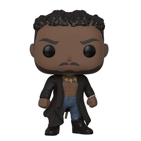 Black Panther Erik Killmonger with Scar Pop! Vinyl Figure [Pre-order]