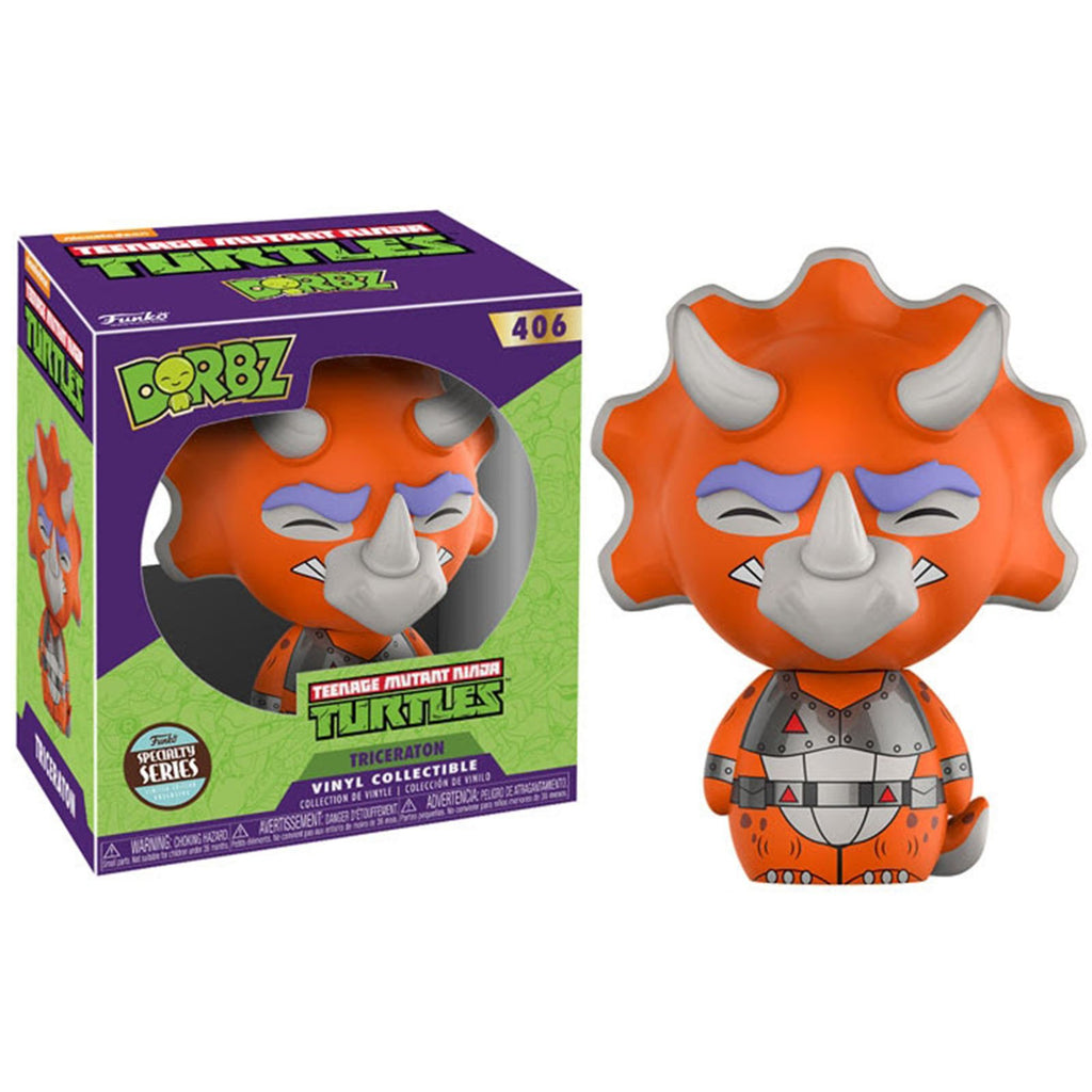 Dorbz Teenage Mutant Ninja Turtles Triceraton Vinyl Figure - Specialty Series