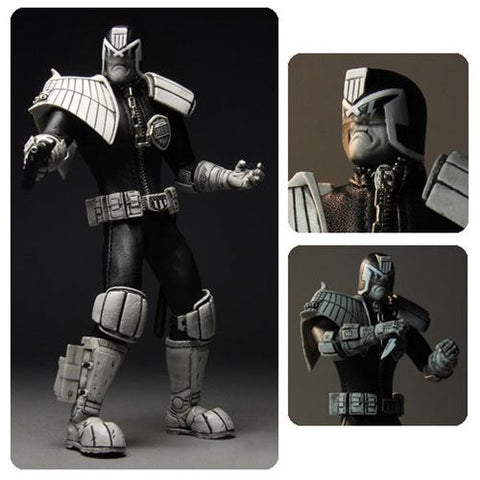 Judge Dredd One:12 Collective Action Figure - Black and White Variant [Pre-order]