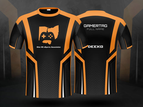 Ohio High School eSports Association Team Jersey - Single Jersey