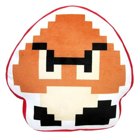 Super Mario Bros. 8-Bit Goomba Pillow