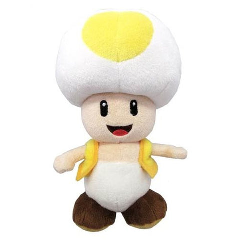 Super Mario Bros. Yellow Toad 8-Inch Plush