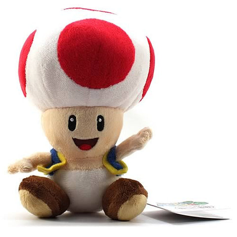 Super Mario Bros. 8-Inch Toad Plush