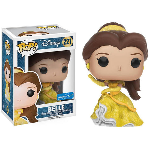 Beauty and the Beast Belle Sparkly Gown Version Pop! Vinyl Figure - Walmart Exclusive