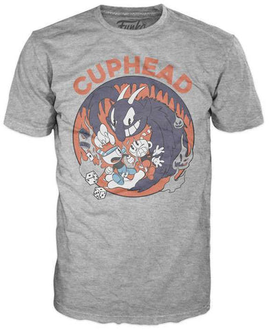 Funko POP! Cuphead Mugman Devil T-Shirt