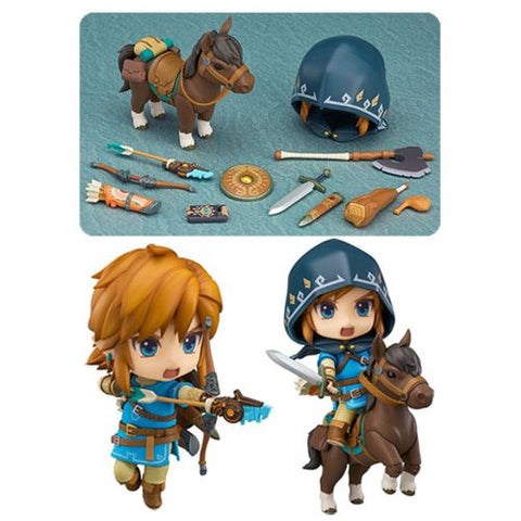 The Legend of Zelda: Breath of the Wild Link Nendoroid Action Figure - DX Edition [Pre-order]