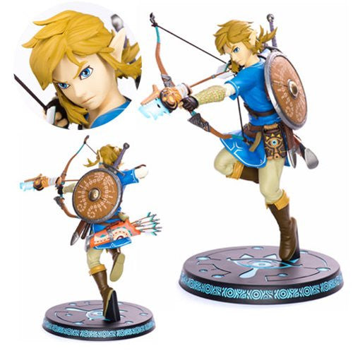 The Legend of Zelda: Breath of the Wild Link Figure