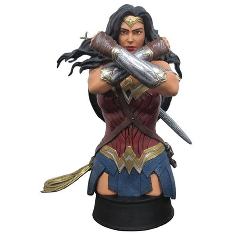 Wonder Woman Movie Defend Bust