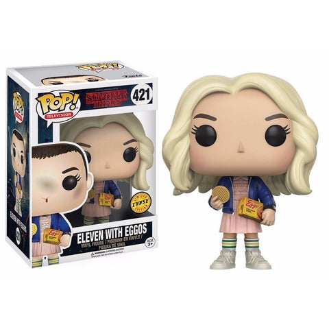 Stranger Things Eleven with Eggos Pop! #421 Chase Edition Vinyl Figure