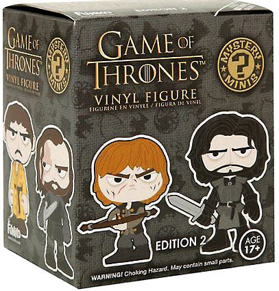 Mystery Minis Blind Box Game of Thrones Series 2