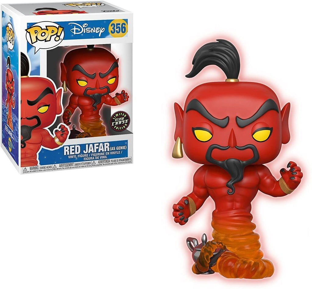 Aladdin Red Jafar Pop! Vinyl Figure #356 Chase Edition