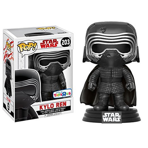 The Last Jedi Kylo Ren POP! #203 Vinyl Figure - Toys R Us Exclusive