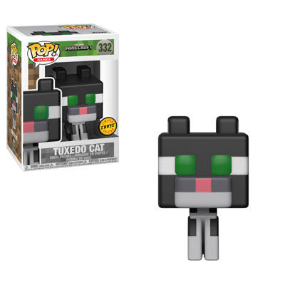 Minecraft Tuxedo Cat POP! Vinyl Figure - Chase Edition