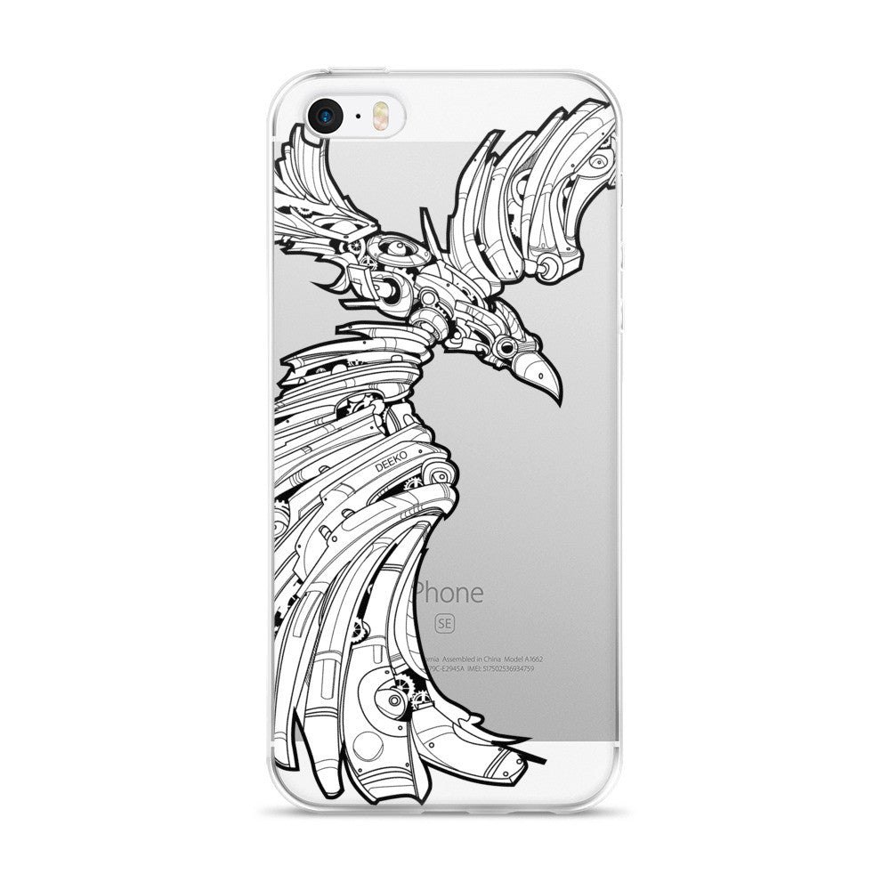 P.O.E. the Raven iPhone case - Deeko - 1