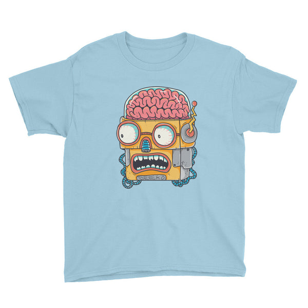 Winston the Robot Youth Short Sleeve T-Shirt