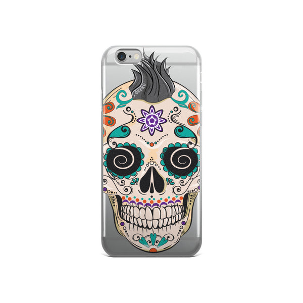 Felix the Sugar Skull iPhone Case - Deeko