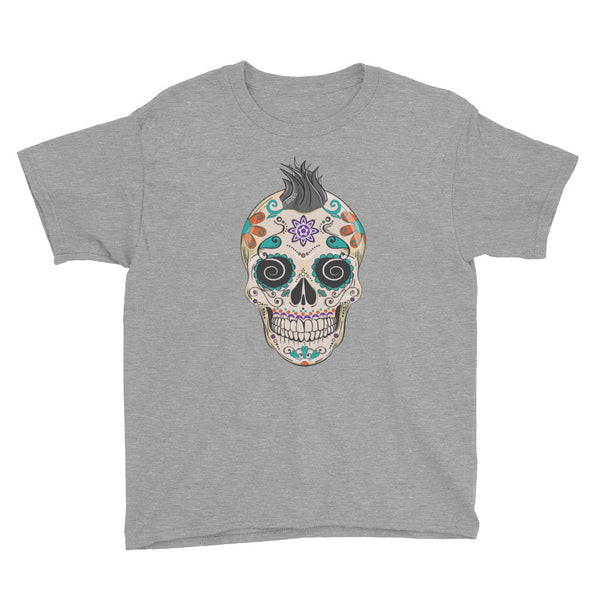 Felix the Sugar Skull Youth Short Sleeve T-Shirt