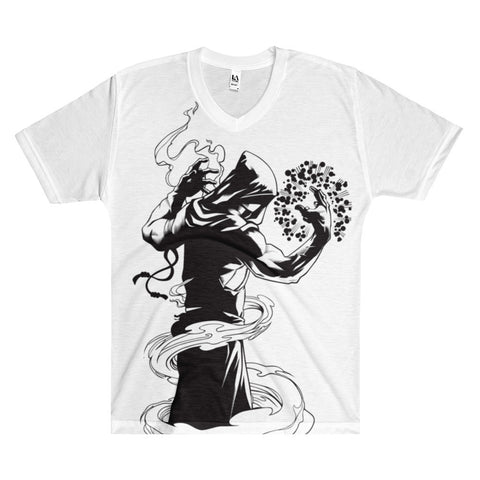 Zekliv the Mage Men's V-Neck T-Shirt