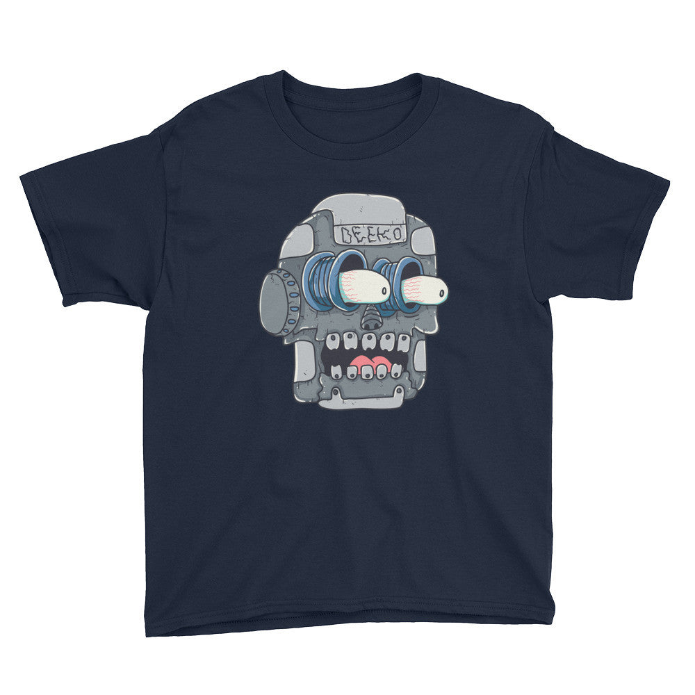 Frank the Robot Youth Short Sleeve T-Shirt