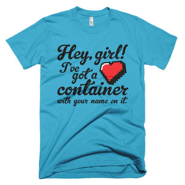 Hey Girl Heart Container T-Shirt - Deeko - 7