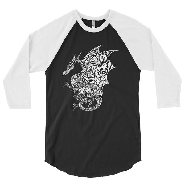 Volandis the Dragon 3/4 Sleeve Raglan Shirt