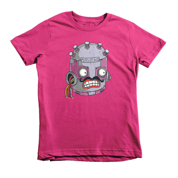Roberto the Robot Short Sleeve Kids T-Shirt - Deeko