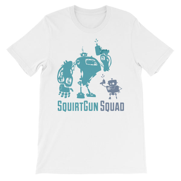 SquirtGun Squad Unisex Short Sleeve T-shirt