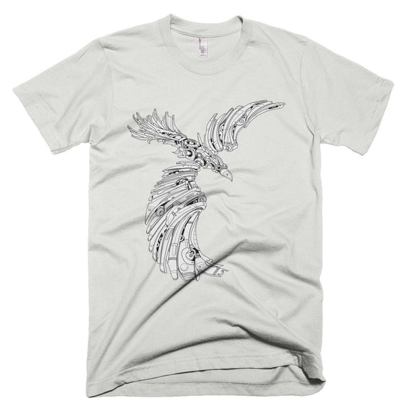 P.O.E. the Raven - Gray Dawn Series T-Shirt - Deeko - 4