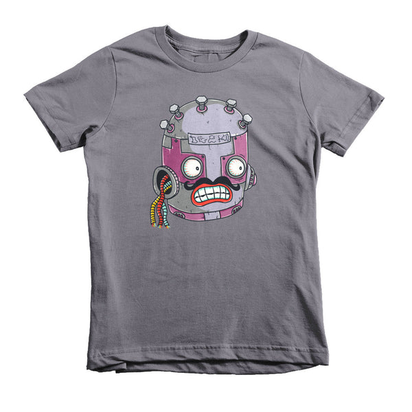 Roberto the Robot Short Sleeve Kids T-Shirt