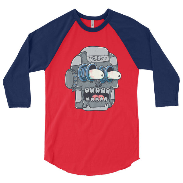 Frank the Robot 3/4 Sleeve Raglan Shirt