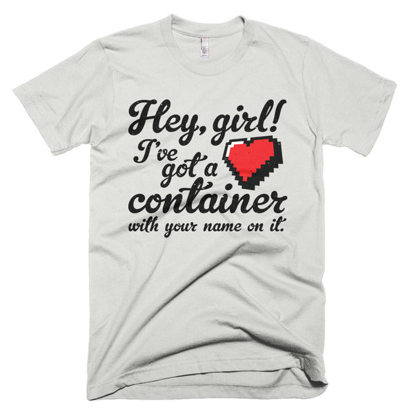 Hey Girl Heart Container T-Shirt - Deeko - 3