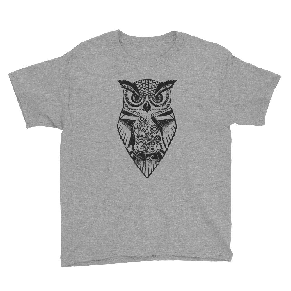 Eldwin the Owl Youth Short Sleeve T-Shirt