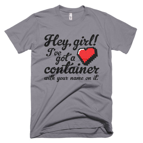 Hey Girl Heart Container T-Shirt - Deeko - 1