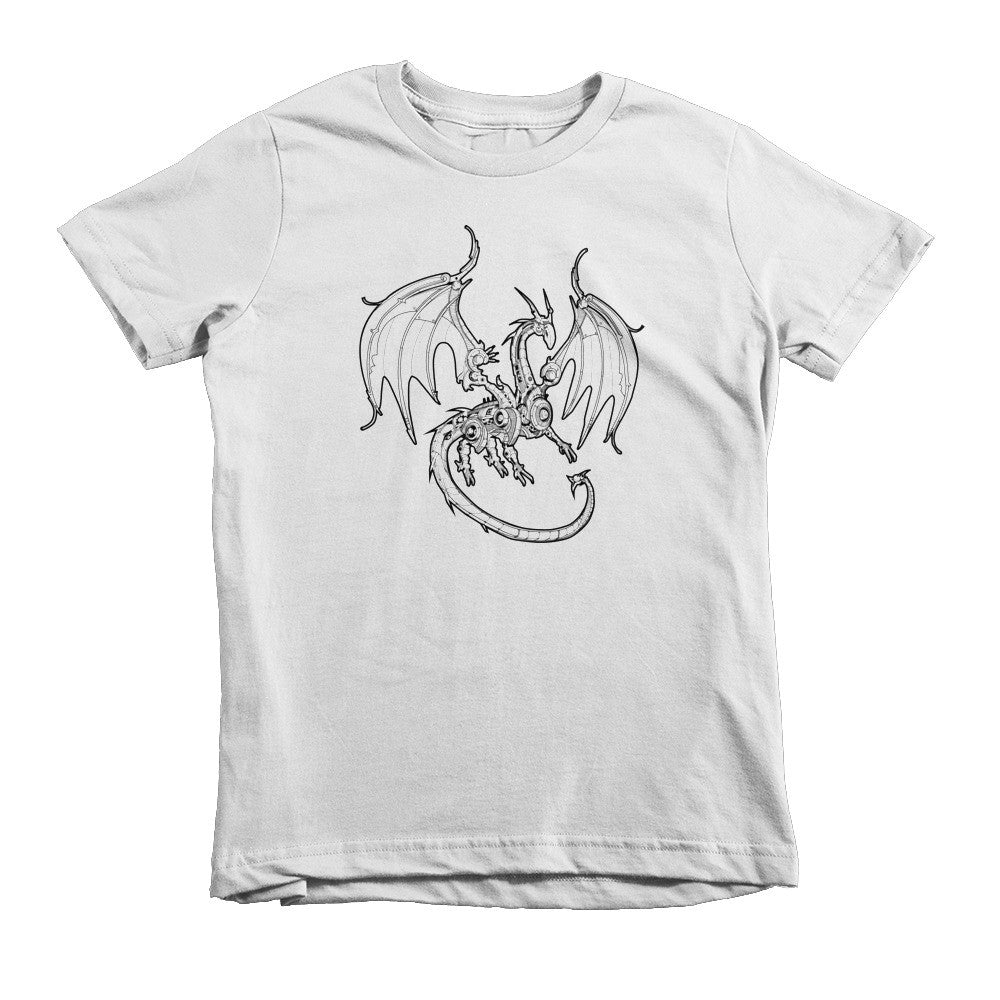 Redgrave the Dragon Short Sleeve Kids T-Shirt
