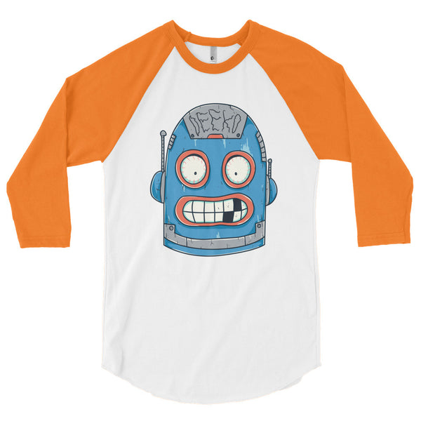 Harold the Robot 3/4 Sleeve Raglan Shirt
