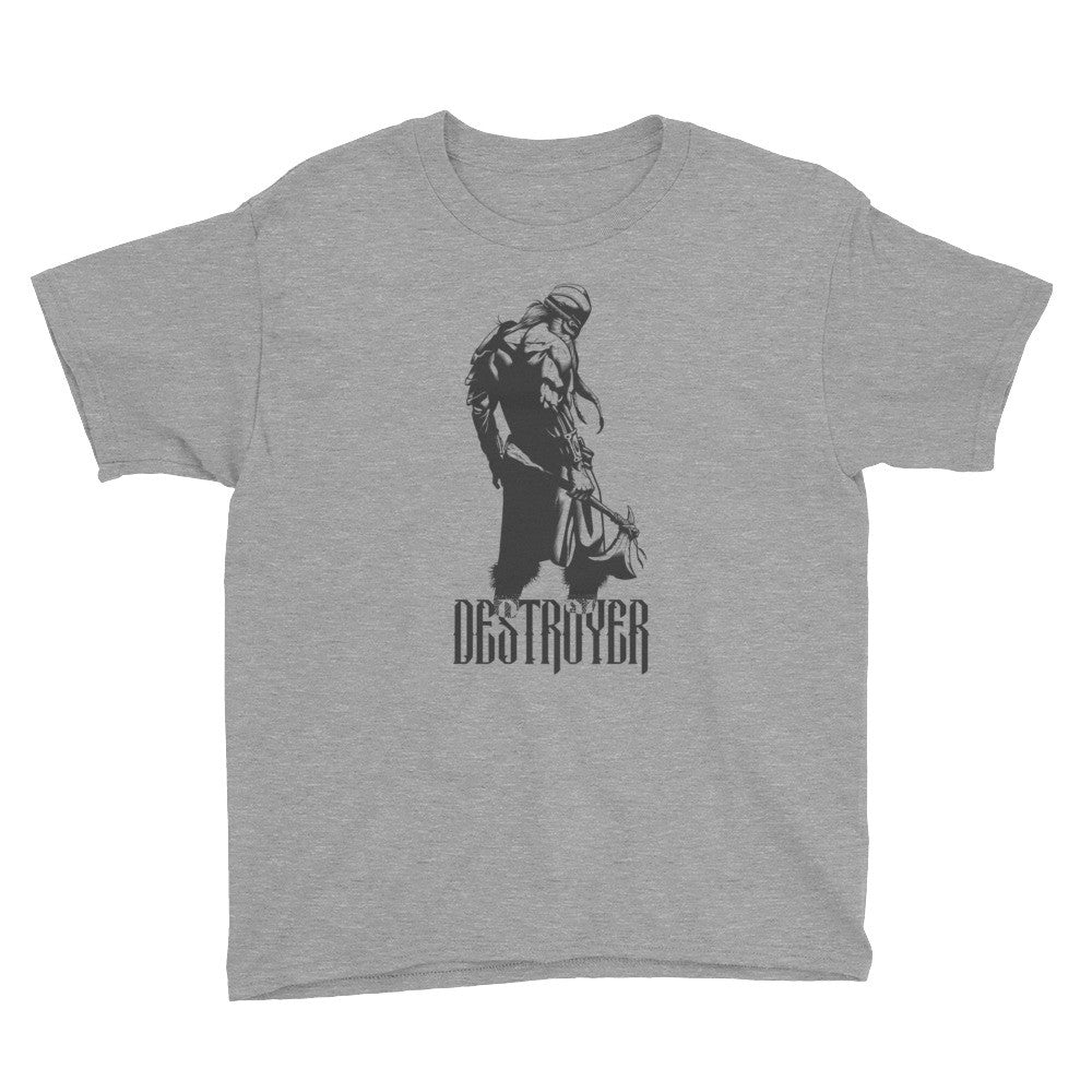 Destroyer Agmundr the Warrior Youth Short Sleeve T-Shirt