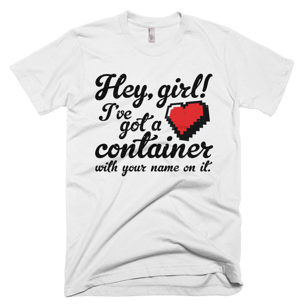 Hey Girl Heart Container T-Shirt - Deeko - 2