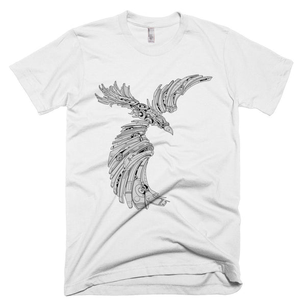 P.O.E. the Raven - Gray Dawn Series T-Shirt - Deeko - 2