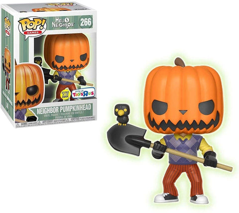 Hello Neighbor Pumpkinhead POP! #266 Vinyl Figure - Toys R Us Exclusive