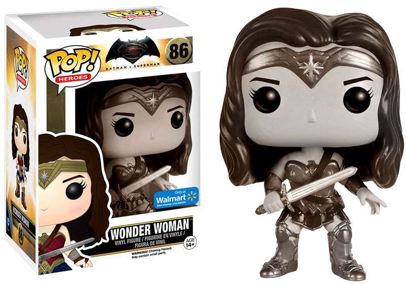 Wonder Woman Sepia Pop! Vinyl Figure - Walmart Exclusive