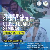 Abraham Marte: Secrets Of The Closed Gaurd