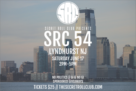 SRC 54 Secret Jiu-Jitsu Event: Lyndhurst, NJ (Jun 17)