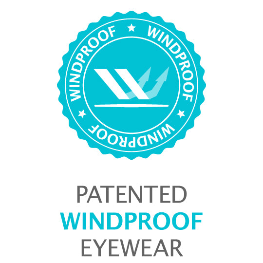 Ziena Dry Eye Eyewear Patented Windproof Technology