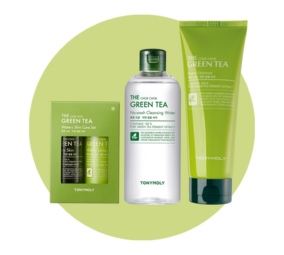 The Chok Chok Green Tea Cleansing Starter Set