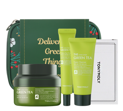The Chok Chok Green Tea Hydration Set - Holiday Edition