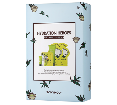 Hydration Heroes - Green Tea Skincare Set