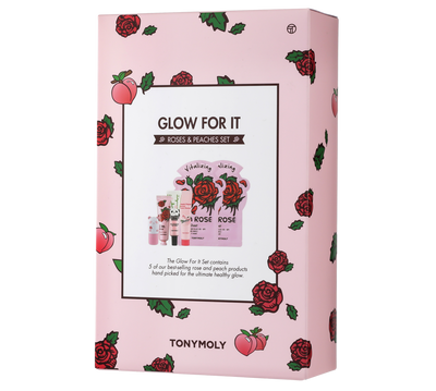 Glow For it - Rose and Peach Skincare Set