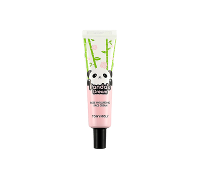Mini Panda's Dream Rose Hyaluronic Face Cream