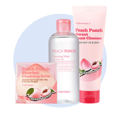 Peach Punch Cleansing Set